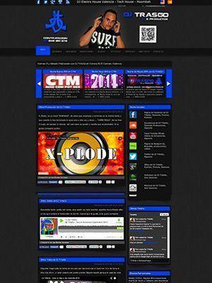 Diseño Web para DJS