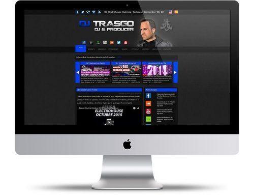 Página Web Oficial de DJ TrAsGo, DJ y Productor Valenciano