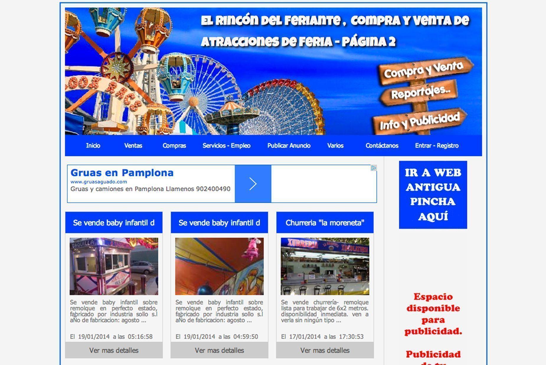 El Rincón del Feriante, portal de anuncios clasificados ...