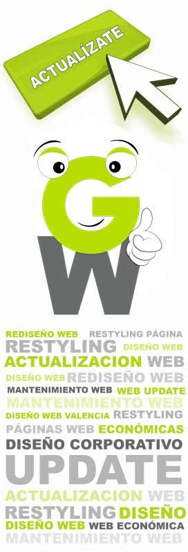 rediseño web valencia