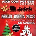 Diseño Cartel Discoteca Noche Buena 2013