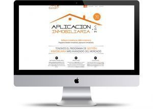 Web de aplicación inmobiliaria