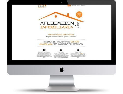 Página Web Inmobiliaria, Software Inmobiliario, CRM a medida