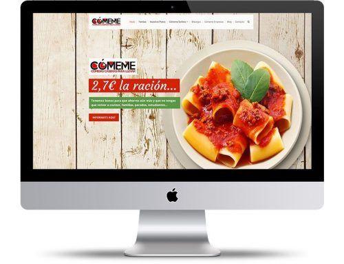 Página Web Casa de Comidas Caseras :: www.comemevalencia.es