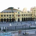 Vista a la Estación de trenes de Valencia