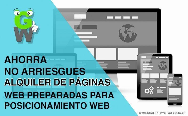 alquiler de paginas web