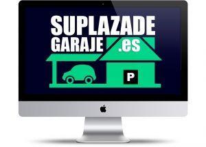 logo corporativo web suplazadegaraje.es