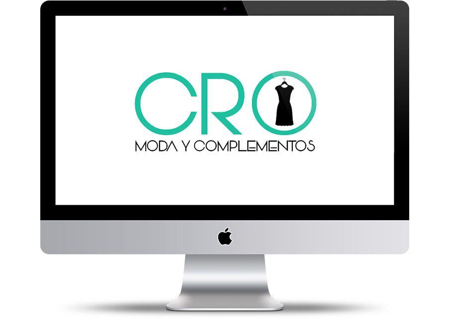 Diseño de Logo de CRO Moda y complementos