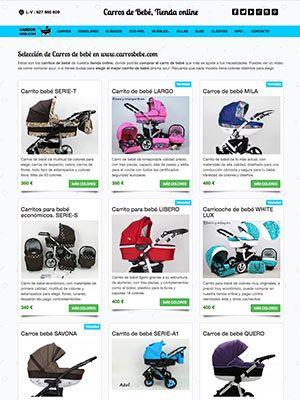 pagina web carrosbebe inicio
