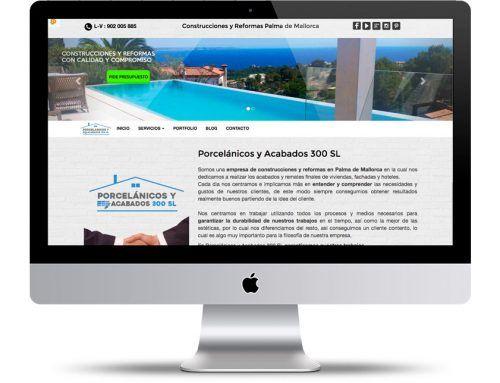 Página web de Reformas y Construcciones en Palma de Mallorca