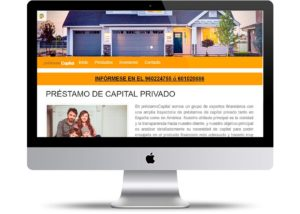 Web Préstamo Capital