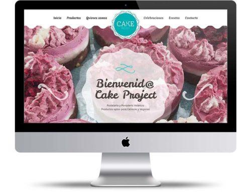 Diseño web Pastelería Vegana Valencia